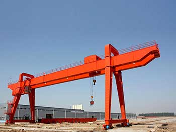 A Frame Crane Design Trolley Lifting Mechanism