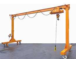 portable gantry crane structure